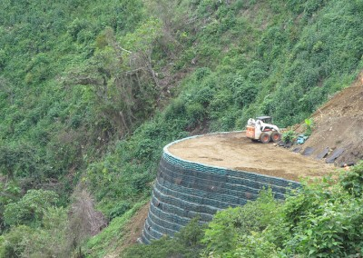 Colombian Mountainside Stabilization