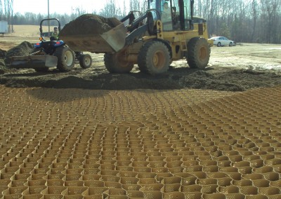 Gravel Road Reinforcement